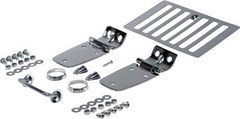 Complete Hood Kit for 1998-2006 Jeep Wrangler TJ, LJ - Stainless