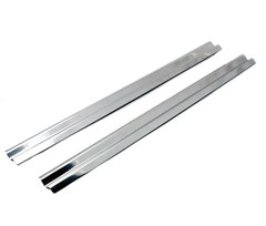 Entry Guards in Stainless for Jeep Wrangler TJ/LJ (1997-2006)
