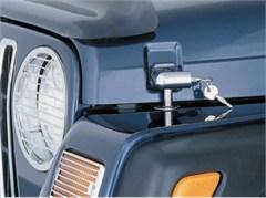 Locking Hood Catch Kit, Chrome for Jeep TJ & LJ (1997-2006)