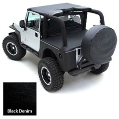 Tonneau Cover for Factory Soft Top - Jeep Wrangler TJ