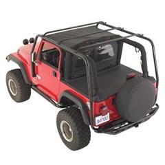 SRC Roof Rack, Jeep YJ (1987-1995), Textured Black