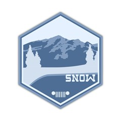 SNOW Terrain Decal