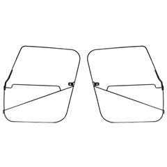 Soft Top Door Frames, (CJ7) 1976-1986, Pair