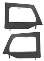Front Upper Soft Doors, Mopar, Jeep Wrangler JK (2007-2017)