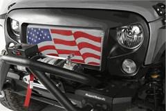Spartan Grille Kit with American Flag Insert Wrangler JK 2007-2018