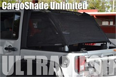 SpiderWeb JK Cargo Shade, UltraMesh - Jeep Wrangler JK Unlimited