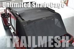 SpiderWeb ShadeCage- Jeep Wrangler JK 4D 2007-2017 TrailMesh Top