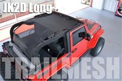 SpiderWeb Extended Trailmesh Shadetop - Jeep Wrangler 2 door JK