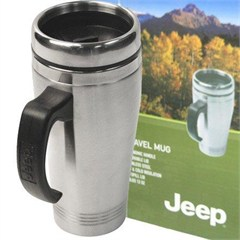 Stainless Steel Jeep Travel Mug