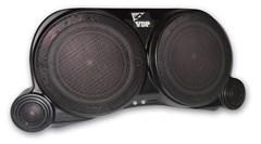 Supreme Center Sound Wedge CJ & Wrangler YJ 1955-1995 Black by VDP