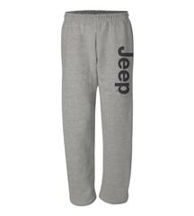 Sweatpants with Dark Gray Jeep Logo