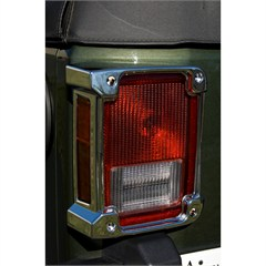 All Things Jeep - Tail Light Cover for Jeep Wrangler JK 2007-2018 in