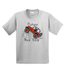 "T-Shirt  for Jeep Kids - ""Future Rock Star"""