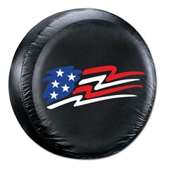 American Flag Tire Cover