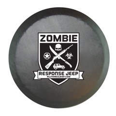 All Things Jeep - Zombie Response Jeep Spare Tire Cover in Black