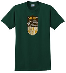 CLOSEOUT - Jeep Give 'Em Hell Men's Tee, Green