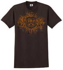 CLOSEOUT (4XL only) - Jeep Tee, Brown Badge & Dragons, Men's Shirt
