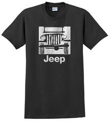 "Traditional ""Camp Jeep Logo"" Men's T-Shirt, Black"