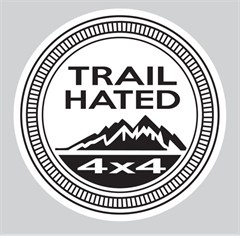 """""""Trail Hated"""" Decal"""