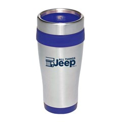 All Things Jeep Logo Stainless Steel Travel Mug