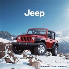 2010 Jeep Wrangler JK Wall Calendar (2 door & 4 door)