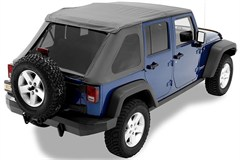 All Things Jeep - Bestop Trp NX Frameless Soft Top for Jeep ...