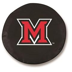 Miami University Redhawks Tire Cover