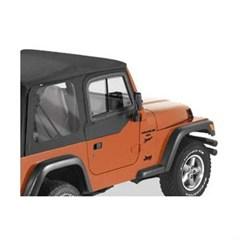 Bestop Door Slider-Jeep Wrangler TJ, Black Denim