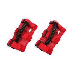 UTV Ultimate Grab Handles in Red by Rugged Ridge