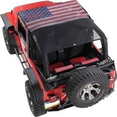 KoolBreez Mesh American Flag Full Top Jeep Wrangler TJ 1997-2006