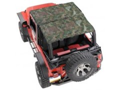 KoolBreez Mesh Camo Full Length Top Jeep Wrangler TJ 1997-2006 by VDP