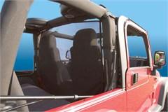 Jeep WindStopper, Black - Fits CJ, Wrangler YJ, TJ