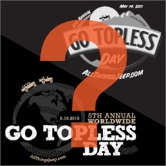 Vintage Go Topless Day Apparel