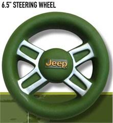 Jeep Dog Toy - Squeaky Vinyl Steering Wheel