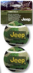 Jeep Tennis Balls for Dogs (2 pack)