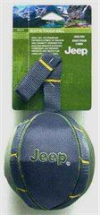 Jeep Ruff'n Tough Soft Ball with Strap Doggie Toy