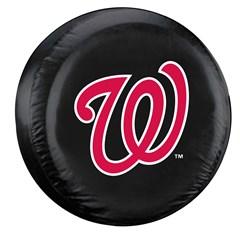 Washington Nationals MLB Tire Cover - Black Vinyl