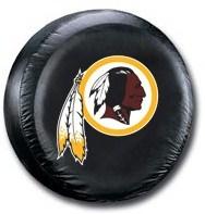 Washington Redskins NFL Tire Cover - Black Vinyl