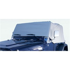 Water Resistant Vinyl Cab Cover, 1976-1986 (CJ7), Gray