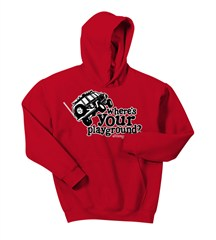 Where's Your Playground? Cherokee Kid's Hoodie Sweatshirt