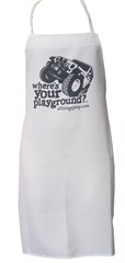 """""""Where's Your Playground?"""" Jeep Wrangler JK Grilling Apron"""