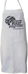 """""""Where's Your Playground?"""" Jeep Cherokee XJ Grilling Apron"""