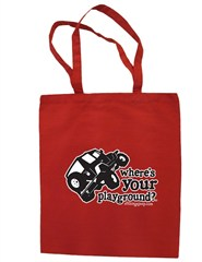 """""""Where's Your Playground?"""" - Wrangler Canvas Tote by All Things Jeep"""