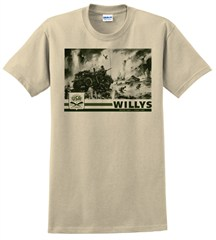 """""""Willys"""" Unisex Short Sleeved Shirt"""