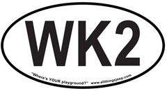 """WK2 Oval """"Euro"""" Sticker for your 2011-present Jeep Grand Cherokee"""