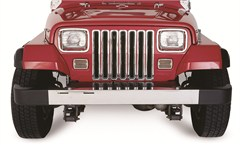 Chrome Grille Inserts by Rampage Products - Jeep YJ (1987-1995)