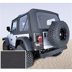 XHD Replacement Soft Top Skin w/Clear Windows TJ 1997-2002