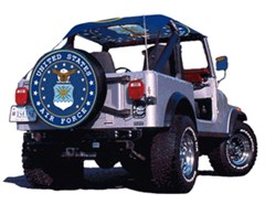 US Air Force Spare Tire Cover