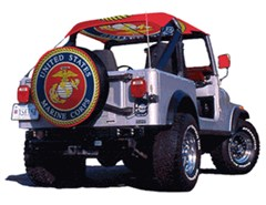 US Marines Spare Tire Cover