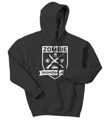 Zombie Response Jeep Adult Hooded Sweatshirt